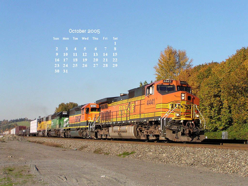 bnsf railway desktop